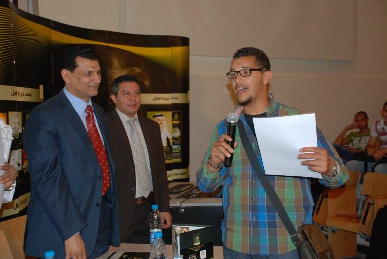 التقرير المصور لملتقيات نادي خبراء المال بالجامعة الأمريكية وجامعة 6 أكتوبر 2012 نادي خبراء المال